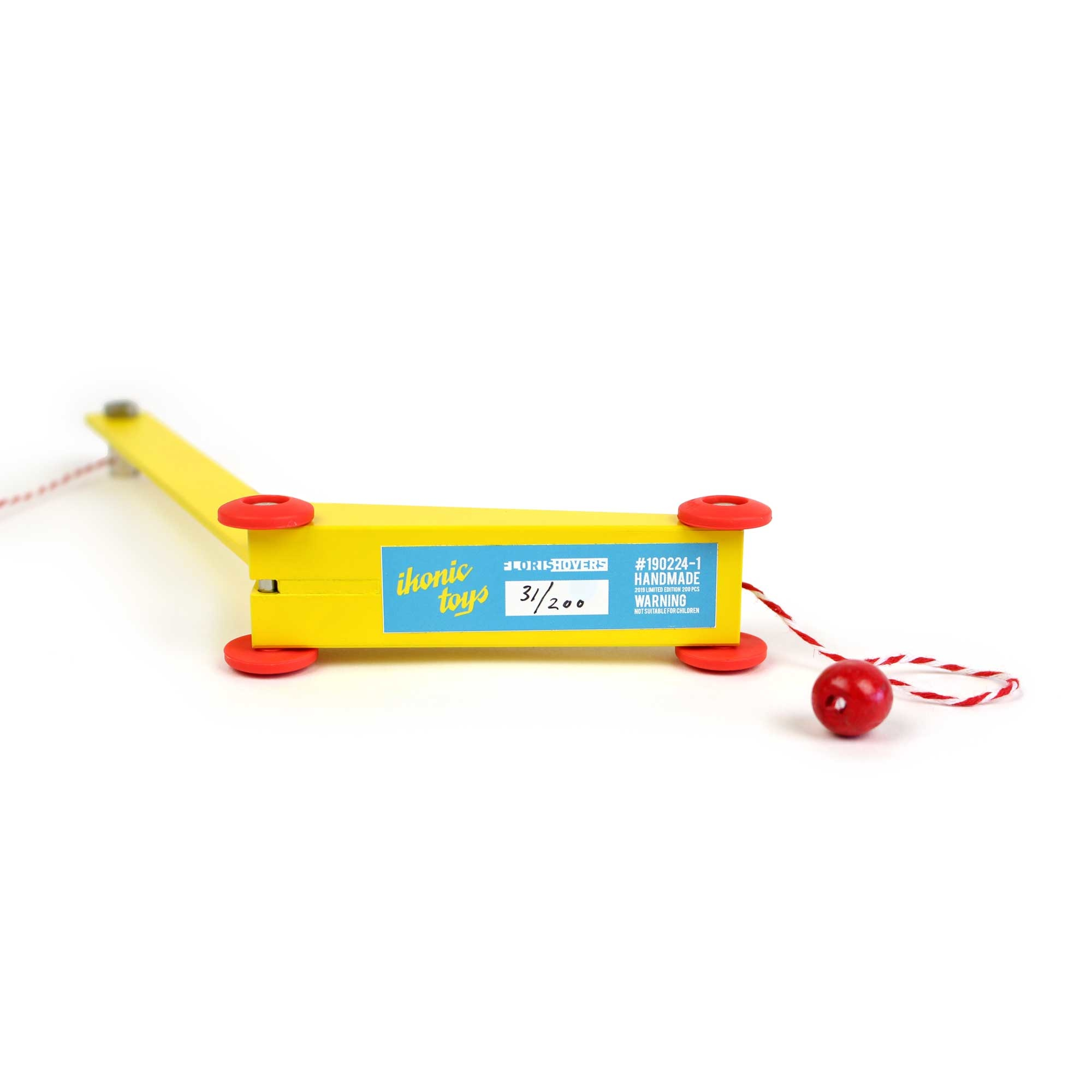 Ikonic Toys Yellow Crane by Floris Hovers