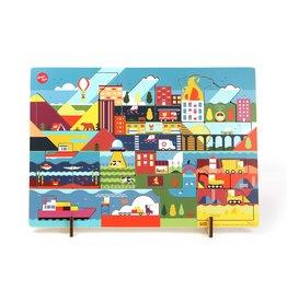 IKONIC Kars + Boom Puzzel 'Dag'