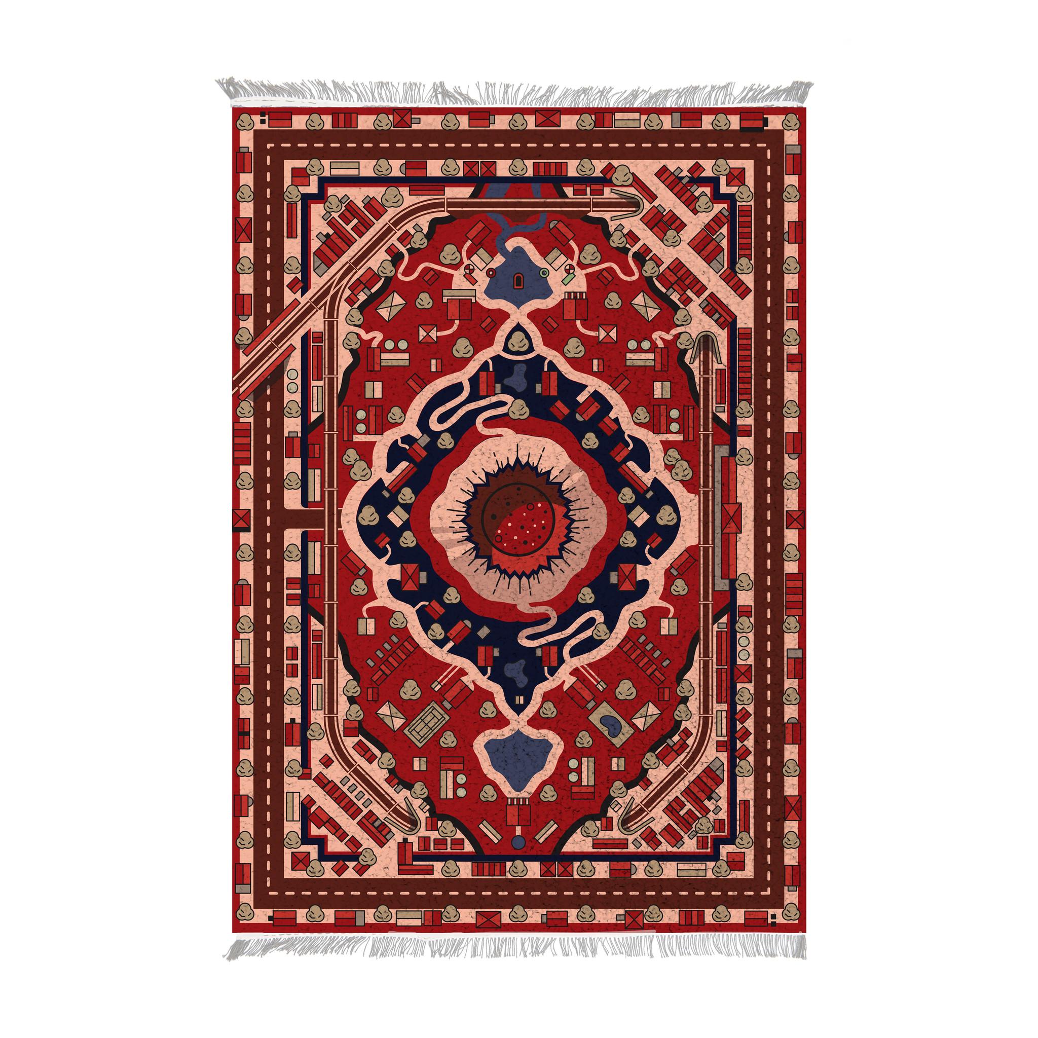 IKONIC Carpet 'Land of Persia'