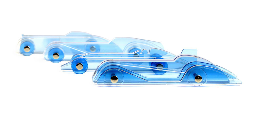 Lucite Cars - Art Deco Style Toy Cars