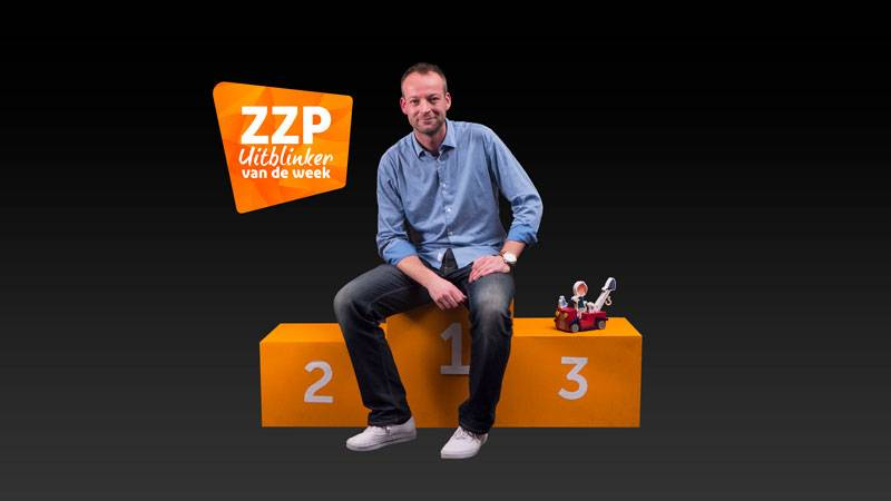 Maurice Doorduyn van Ikonic Toys Ziggo's ZZP Uitblinker van de Week