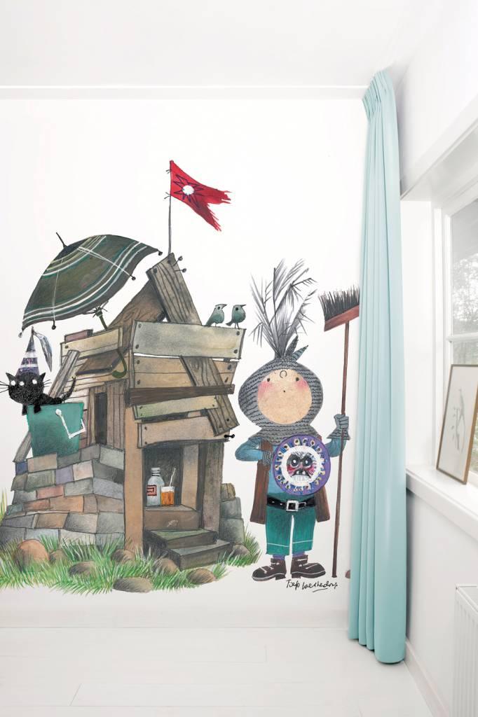 Kek Amsterdam Photo wallpaper 'Small knight', Fiep Westendorp