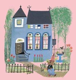 Kek Amsterdam Fotobehang 'Beer voor het blauwe huis'
