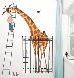 Kek Amsterdam Fiep Westendorp Fotobehang Reuze Giraffe / Dikkertje Dap
