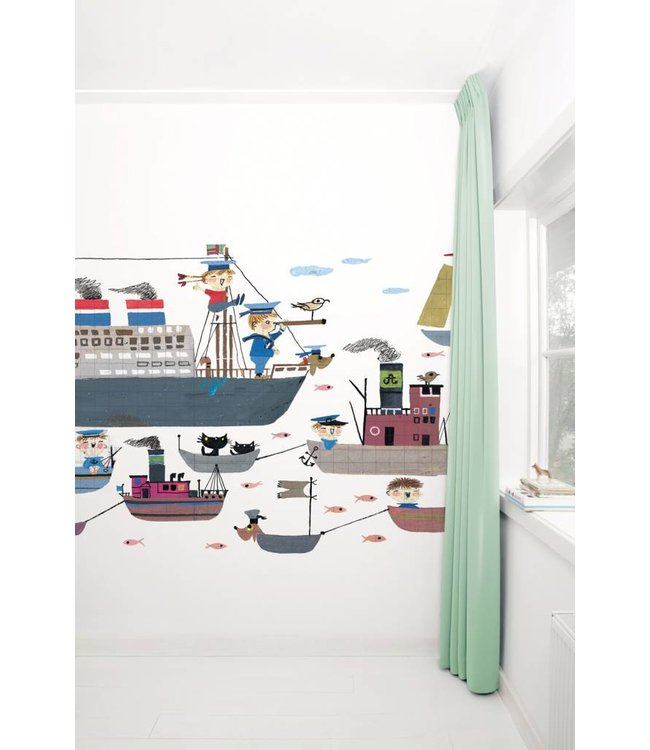 "Photo wallpaper ""Holland America Line"" - Fiep Westendorp"