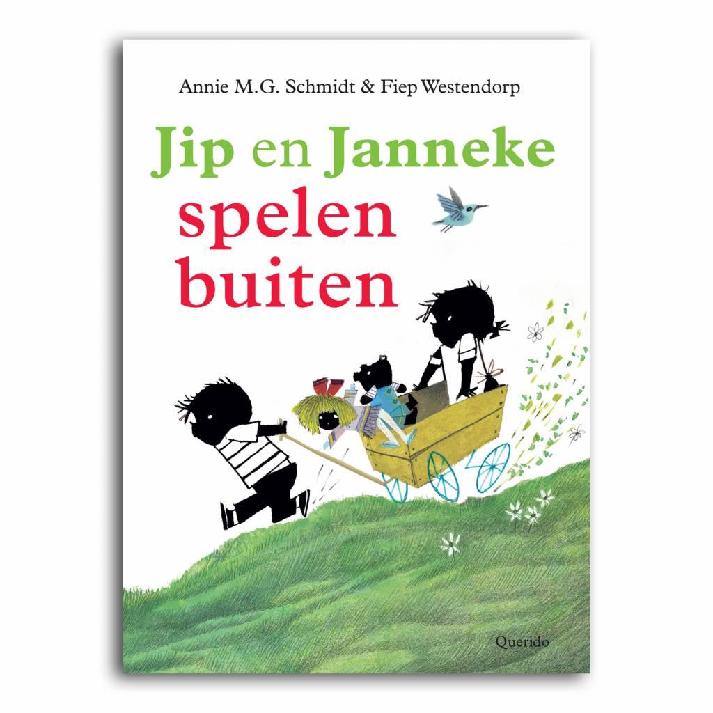 Querido Jip en Janneke spelen buiten (in dutch) - Annie M.G. Schmidt