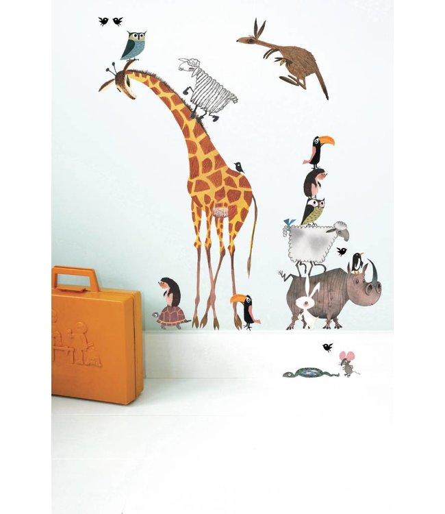 Wall Stickers 'Animals' (set)