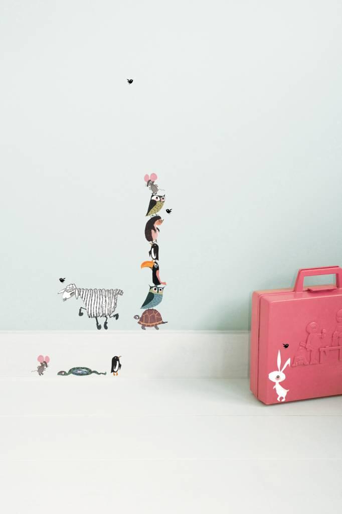 Kek Amsterdam Muurstickers Dieren (kleine set) - Fiep Westendorp