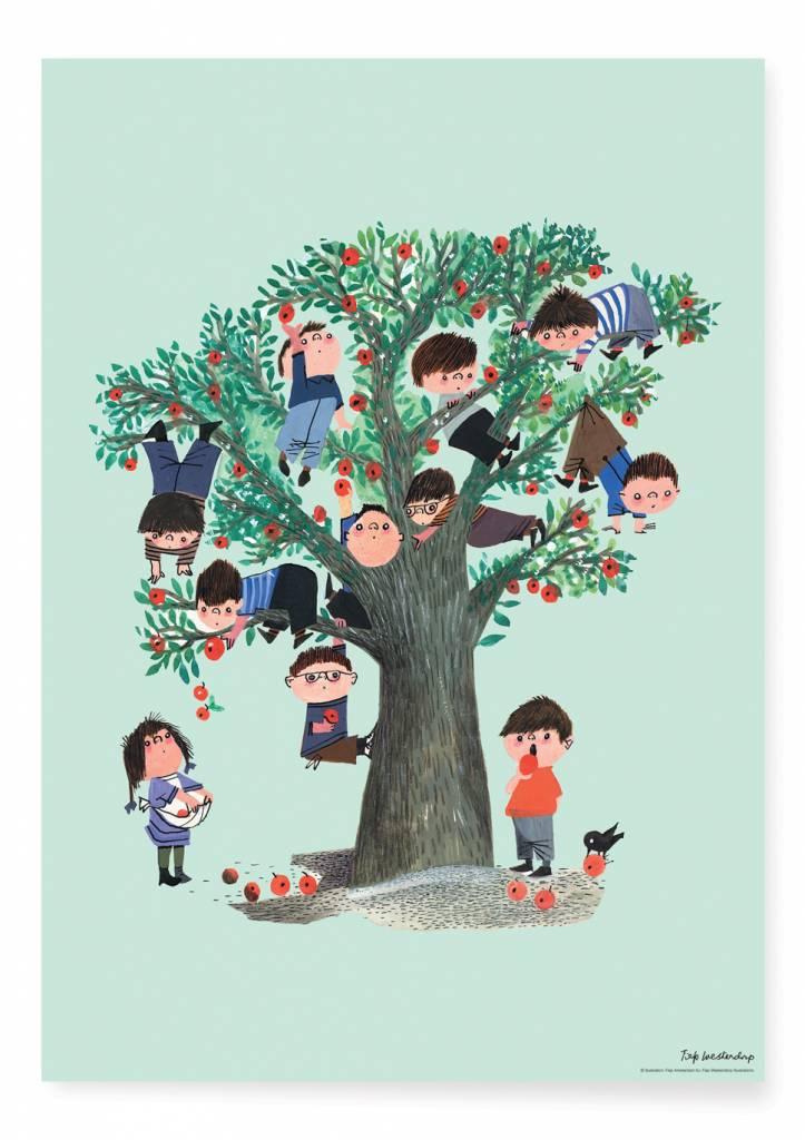 Kek Amsterdam Poster 'Appletree', 42 x 60 cm