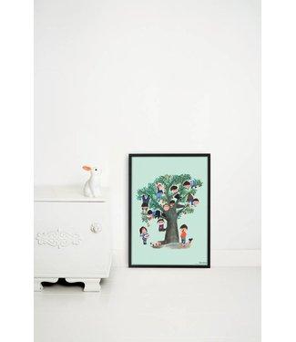 Kek Amsterdam Poster 'Appelboom', 42 x 60 cm