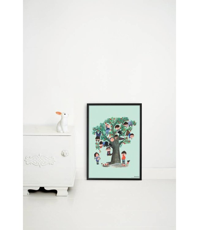 Poster 'Appelboom', 42 x 60 cm