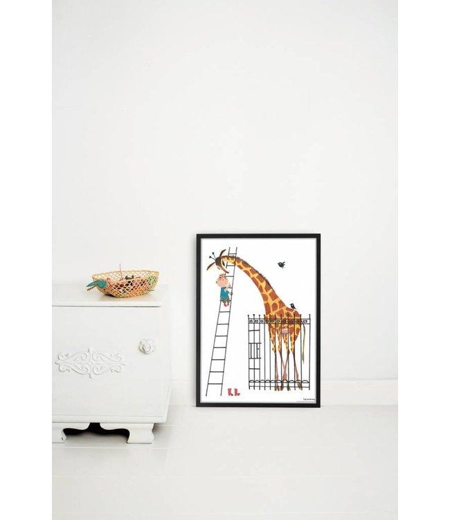 Poster 'Giant Giraffe', 42 x 60 cm