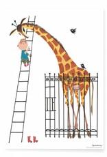 Kek Amsterdam Poster 'Giant Giraffe', 42 x 60 cm
