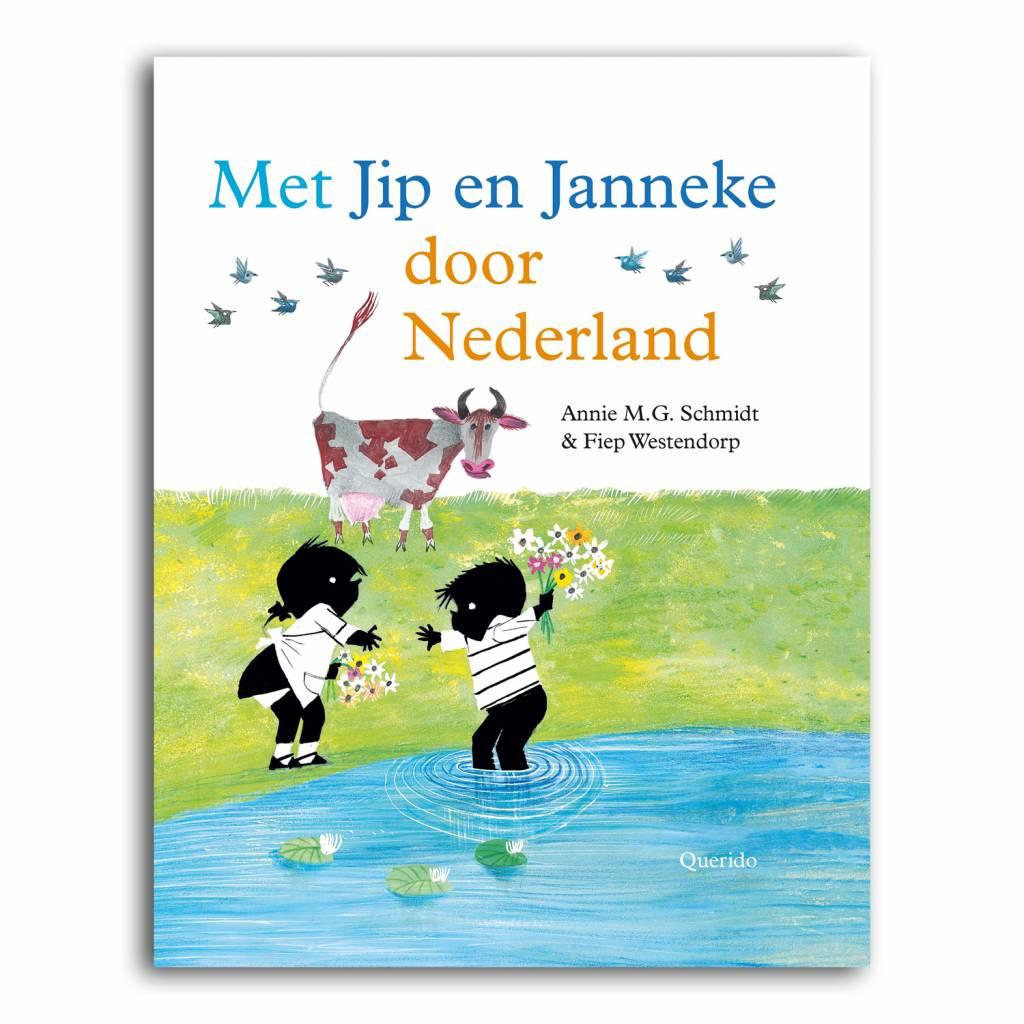 Querido Met Jip & Janneke door Nederland!  (dutch book) Fiep Westendorp