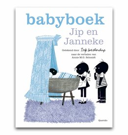 Querido Jip and Janneke babybook boy,  blue