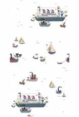 Kek Amsterdam Wallpaper 'Holland America Line' - Fiep Westendorp