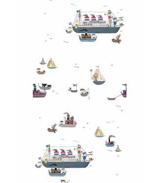 Kek Amsterdam Fiep Westendorp Wallpaper 'Holland America Line'
