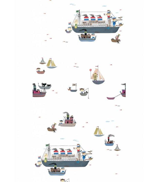 Wallpaper 'Holland America Line' - Fiep Westendorp