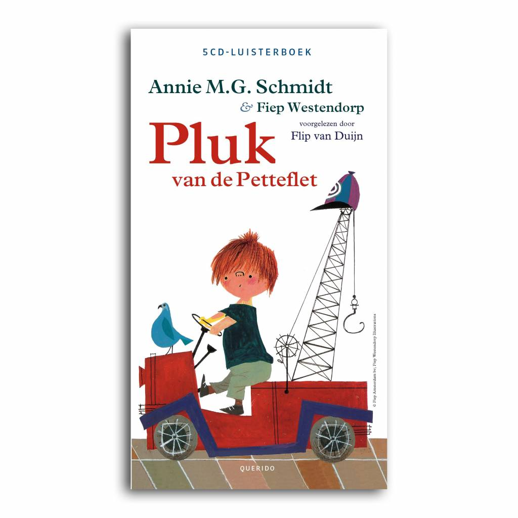 Querido Pluk van de Petteflet (5CD-luisterboek)