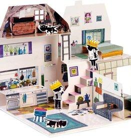 Querido Pop-up Boek: Het huis van Jip en Janneke