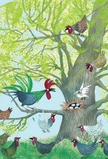 Studio Roof Tiny Story Pop Out Cards, Chicken tree