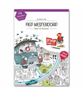 Very Mappy XXL Color & play map of Fiep Westendorp