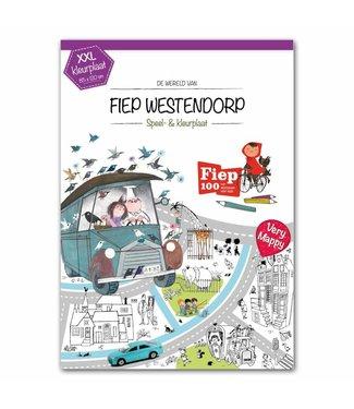 Very Mappy XXL speel- en kleurplaat Fiep Westendorp