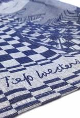 Hollandsche Waaren Tea Towel 'Riding a bike' - Fiep Westendorp