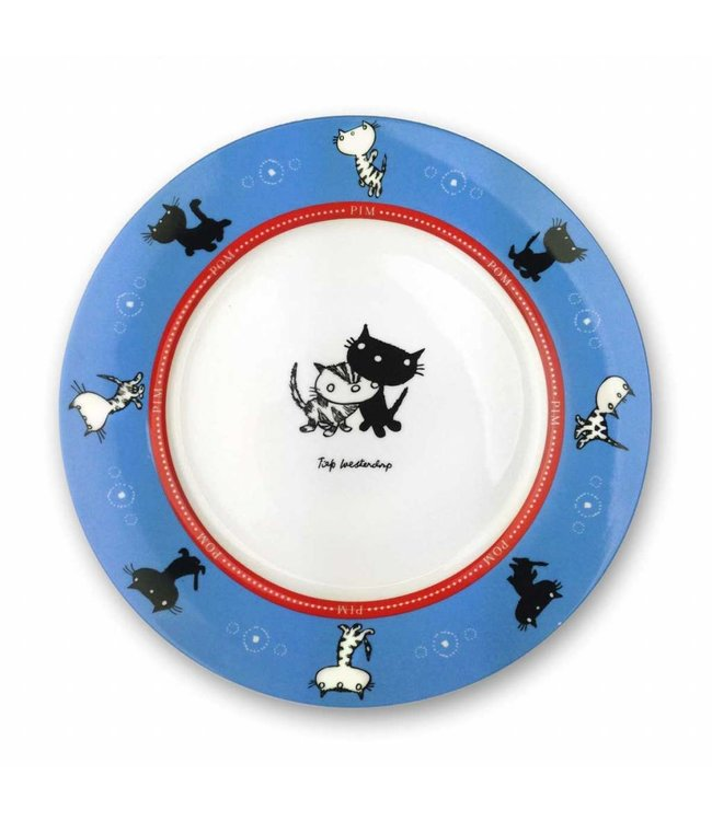 Pim and Pom Dishware - Plate