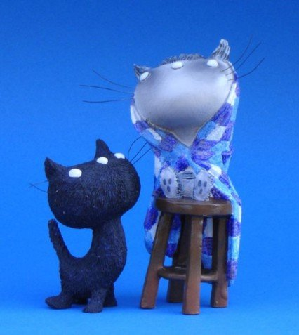 Parastone Figurine Pim and Pom