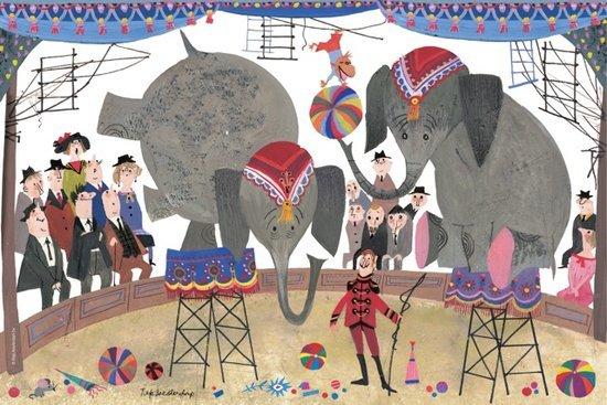 Puzzelman In het circus