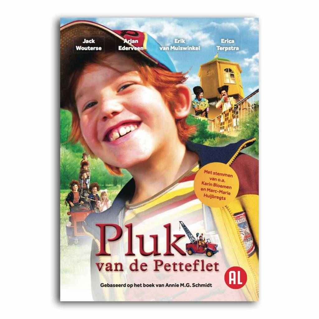 In The Air DVD - Pluk van de Petteflet (NL)