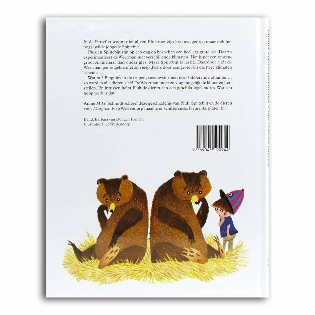 Querido Pluk redt de dieren (book in Dutch) - Annie M.G. Schmidt and Fiep Westendorp