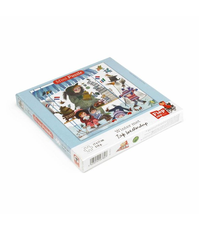 Fiep Westendorp Mini Puzzle 'Winter with Koek & Sopie' (210 pcs)