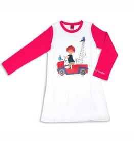 Fiep Amsterdam BV Nachtjapon / Pyjama 'De Rode Kraanwagen'