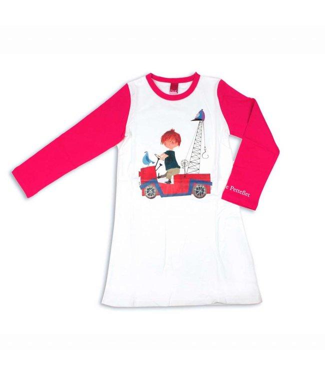 Nachtjapon / Pyjama 'De Rode Kraanwagen' - Fiep Westendorp