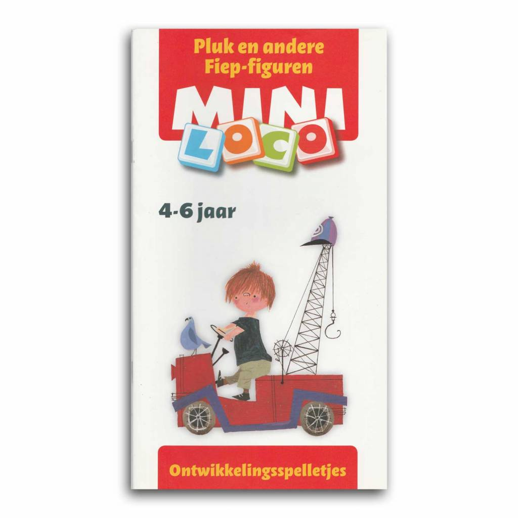 Noordhoff Uitgevers B.V. Mini Loco - booklet 'Pluk and other Fiep-figures' - Development Games