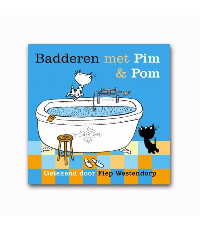 Pim & Pom boekje om mee te spelen in bad!
