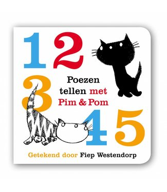 Querido Poezen tellen met Pim & Pom - Mies Bouhuys