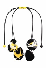 Zsiska Necklace 'Cat and Dog' - Fiep Westendorp - Zsiska