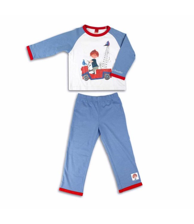 Boys' Pyjamas 'The Red Tow Truck' from the famous boy Pluck
