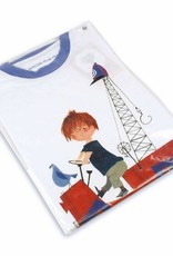 Fiep Amsterdam BV T-Shirt 'The Red Tow Truck' from the famous boy Pluck