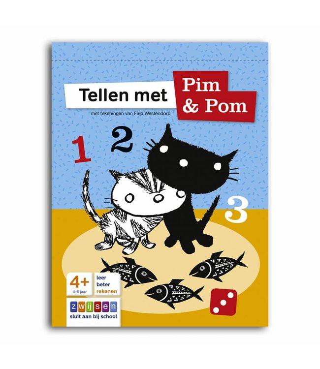 Tellen met Pim en Pom (counting with Pim and Pom) - Doeblok