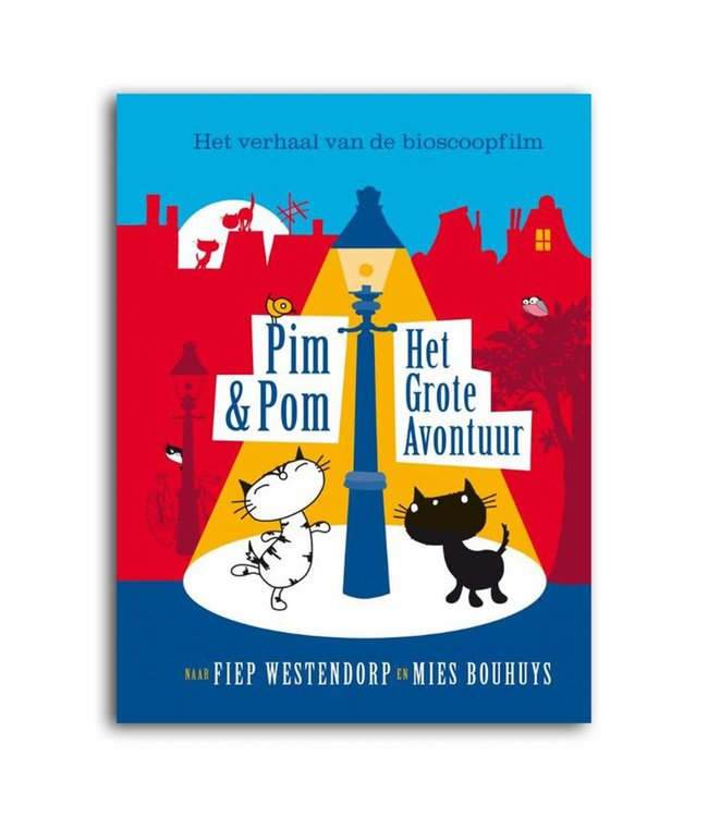 Fiep Imprint Pim en Pom Boek: Het Grote Avontuur