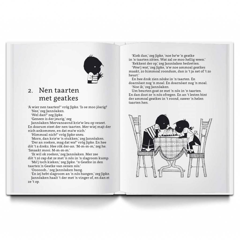 Uitgeverij Twentse Media Jipke en Jannöaken (inclusief CD) - Annie M.G. Schmidt