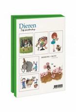 Bekking & Blitz Card Wallet, Animals - Fiep Westendorp