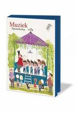 Bekking & Blitz Ansichtkaartenmapje, Muziek - Fiep Westendorp