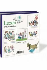 Bekking & Blitz Ansichtkaartenmapje, Lezen - Fiep Westendorp