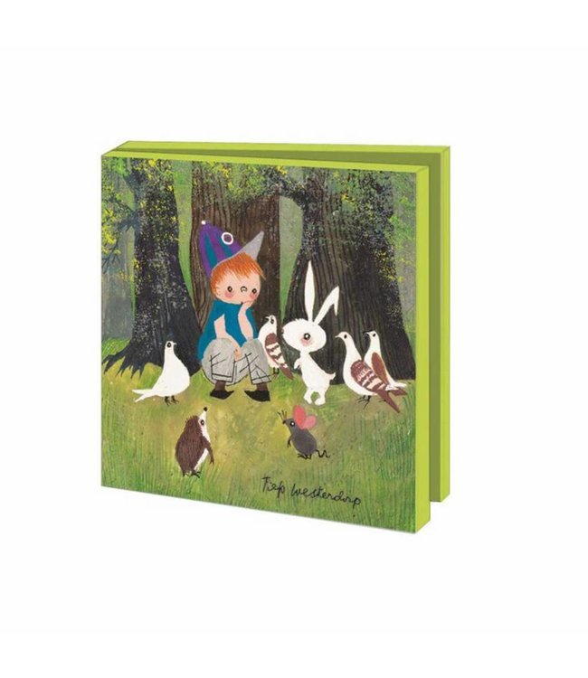 Bekking & Blitz Card Wallet, Forest and Farm Animals