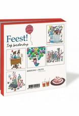 Bekking & Blitz Card Wallet, Party - Fiep Westendorp
